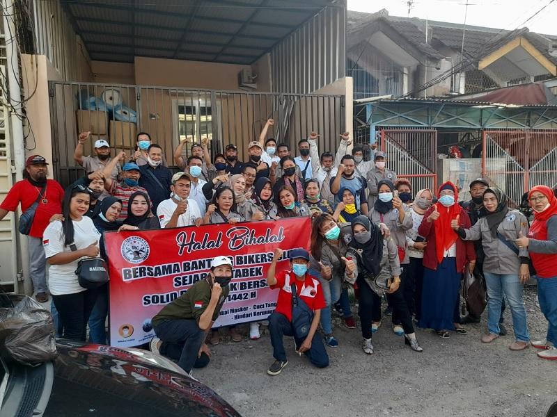 Banteng Biker Club Makin Solid & Setia Pada PDI Perjuangan