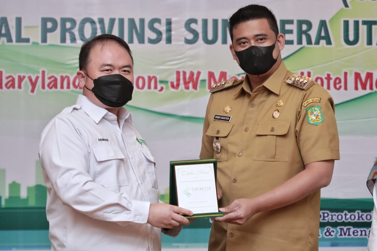 Bobby Dorong Pelaku Usaha Lokal Tingkatkan CSR