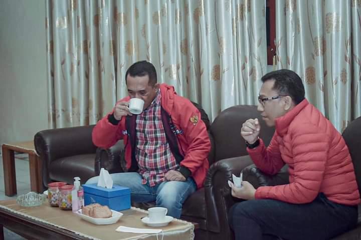 Gelar Pertemuan, Ansy & Bupati Manggarai Siap Bersinergi