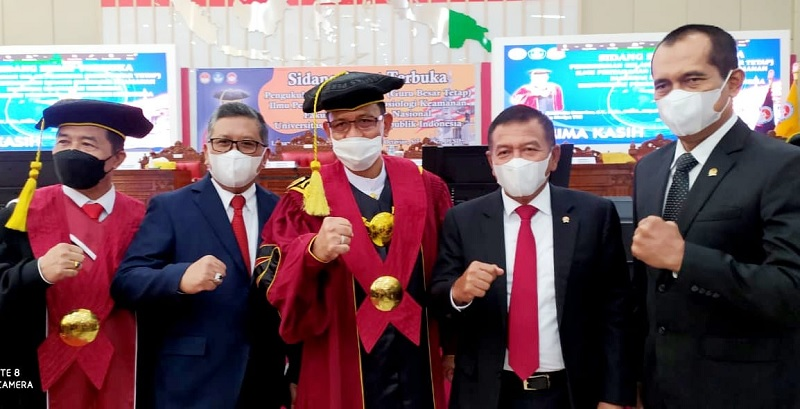 Orasi Rektor UNHAN Perkuat Kepemimpinan Intelektual Maritim