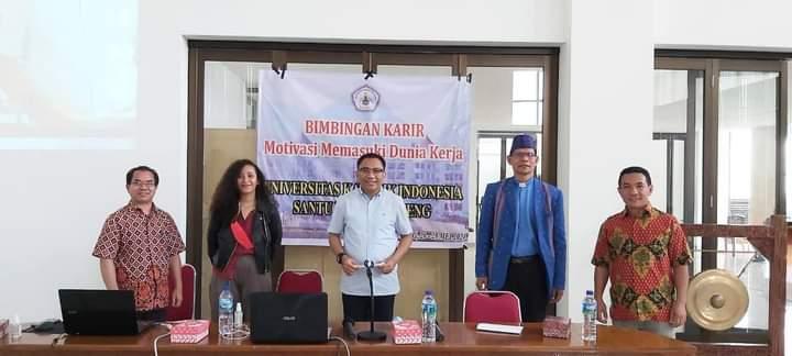 Ansy Dorong Mahasiswa Ruteng Geluti Ekonomi Kreatif