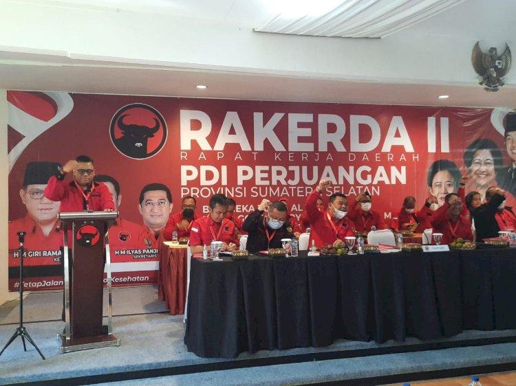 Pemilu 2024, Banteng Sumsel Bidik 1 Juta Suara