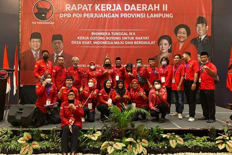 Banteng Provinsi Lampung Sinergikan Kekuatan di Rakerda II