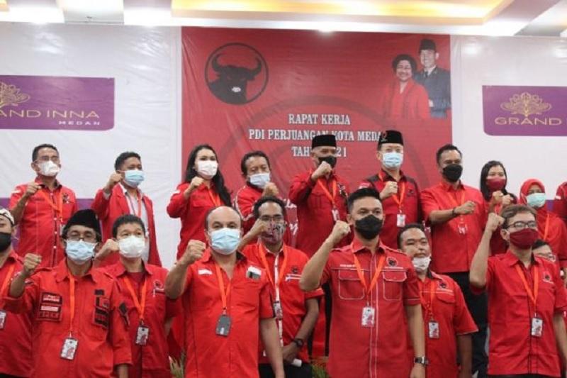 Pemilu 2024, Banteng Medan Targetkan Rebut 14 Kursi