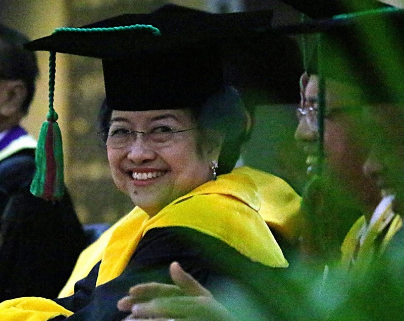 Profesor Jepang & UI Dukung Gelar Profesor Untuk Megawati