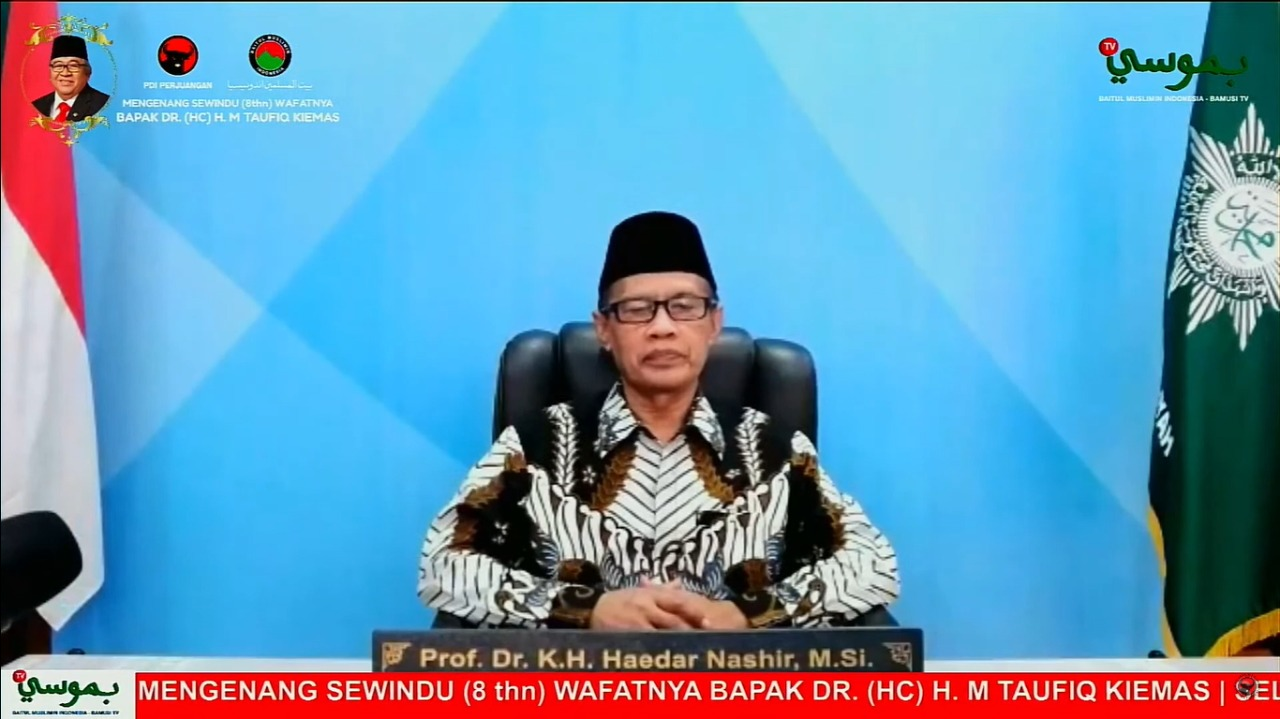 Taufiq Kiemas Jadi 'Jembatan' Bagi Nasionalis & Islam