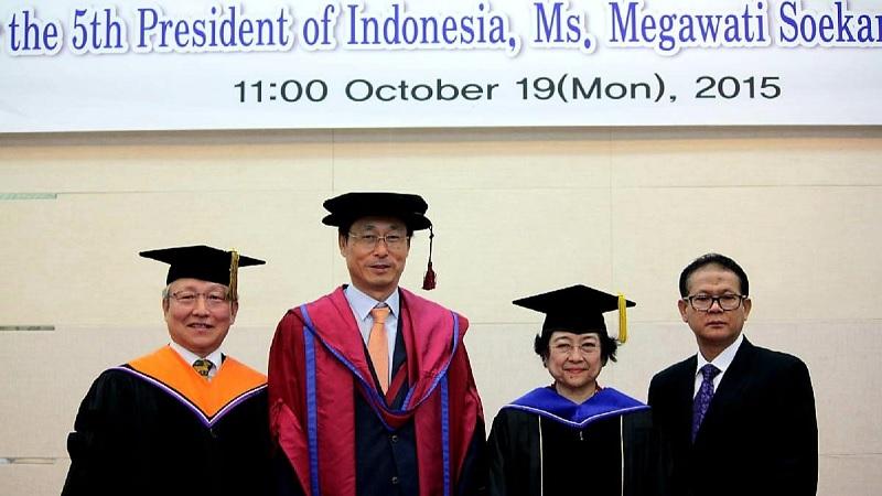 Guru Besar IPB Ungkap Kronologi Profesor Kehormatan Megawati