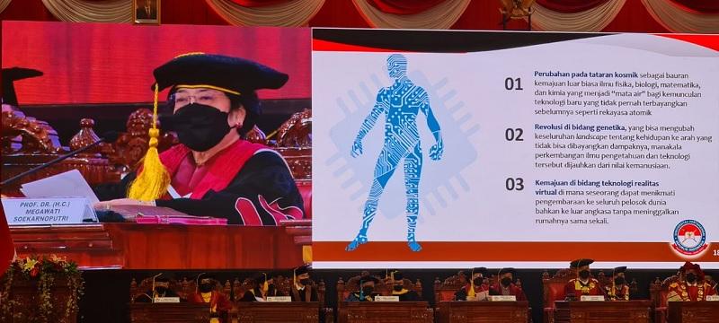 Megawati Beberkan Sisi Lain Kloning dan Teknologi Maju