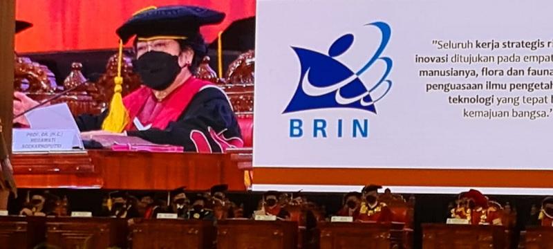 Ini Pujian Megawati Untuk Keputusan Jokowi Bentuk BRIN
