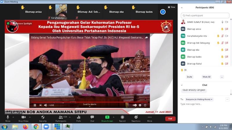Nobar Profesor Megawati, Bob Sitepu: Bukti Cinta Pada Mega