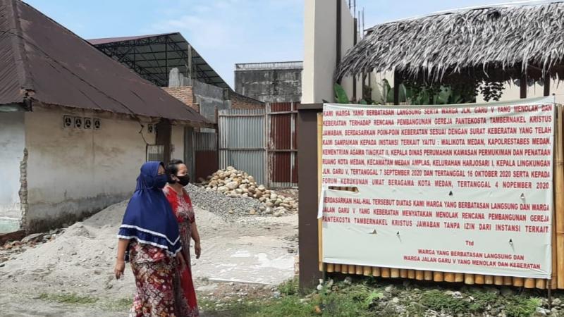 Gereja Ditolak di Medan, Banteng Sumut Bersikap!