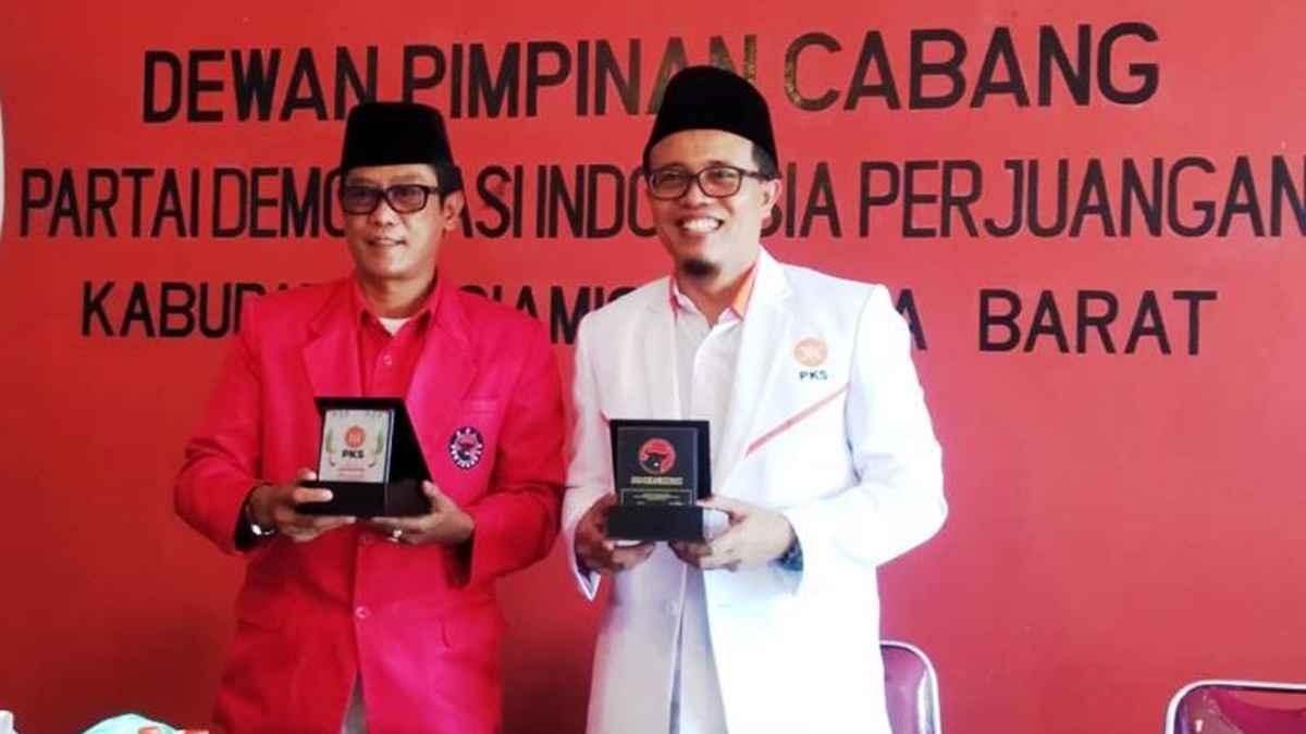 Banteng Ciamis Gelar Silaturahmi Politik Dengan PKS