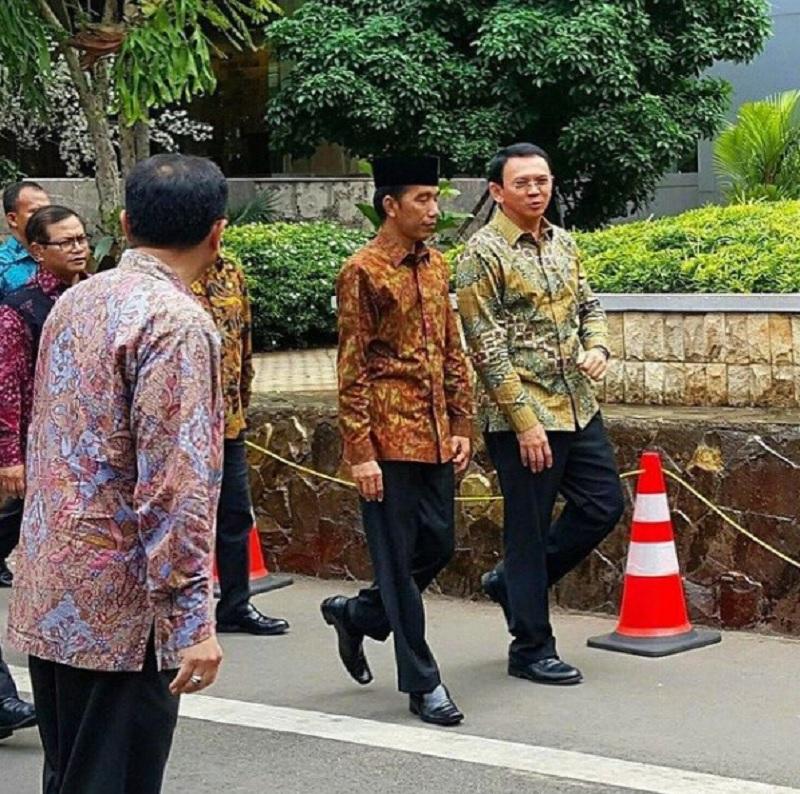 Ahok Ucapkan Selamat Ulang Tahun Untuk Jokowi