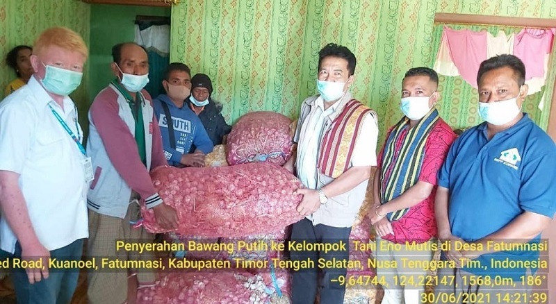 Ansy-Kementan Beri Bantuan Dana Untuk Petani NTT