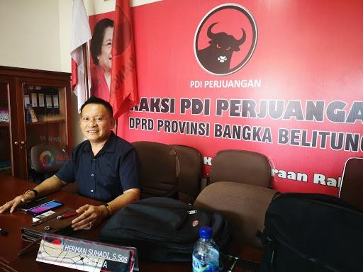 Herman Suhadi Minta Kader Banteng Tingkatkan Kinerja