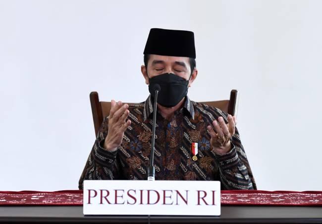 Presiden Ajak Masyarakat Ikhtiar Lahiriah Hadapi Pandemi
