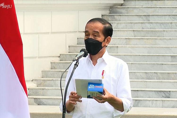 Presiden Jokowi Luncurkan 300 Ribu Paket Obat & Vitamin