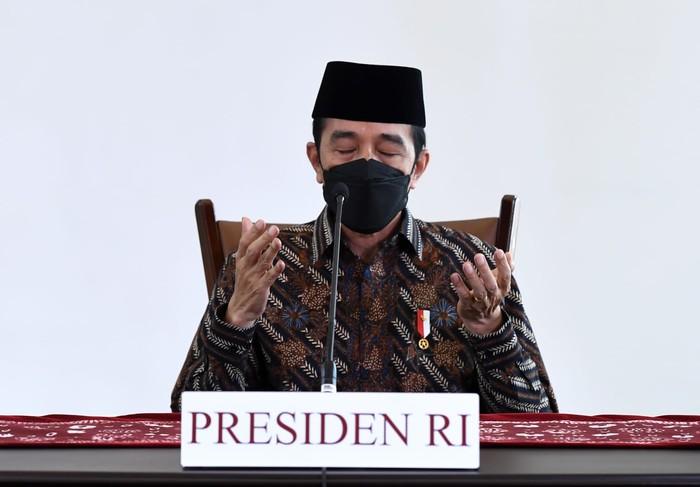 Presiden Ajak Masyarakat Berdoa dan Bertakbir dari Rumah