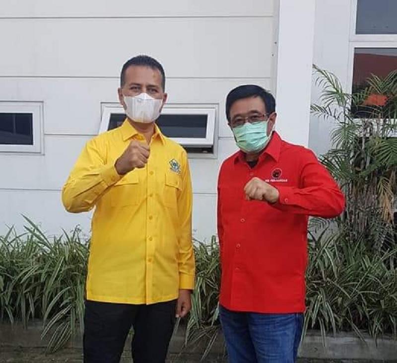 PDI Perjuangan & Golkar Sumut Bersinergi Tangani Pandemi