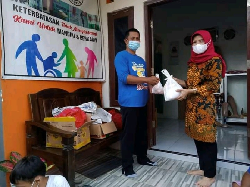 Wabup Kebumen Siap Fasilitasi Vaksin Bagi Disabilitas