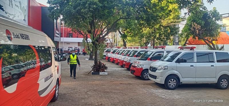 PDI Perjuangan Lepas Kendaraan Serbaguna Untuk Kemanusiaan