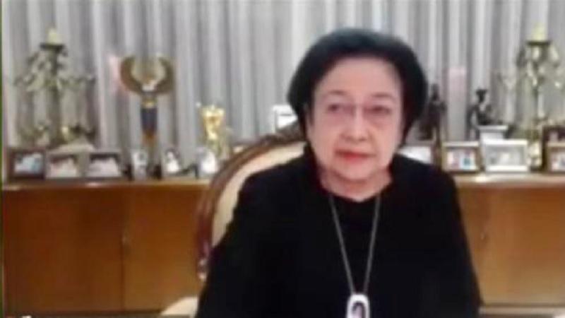 Megawati: Kader Bangun Dapur Umum & Selamatkan Anak Bangsa