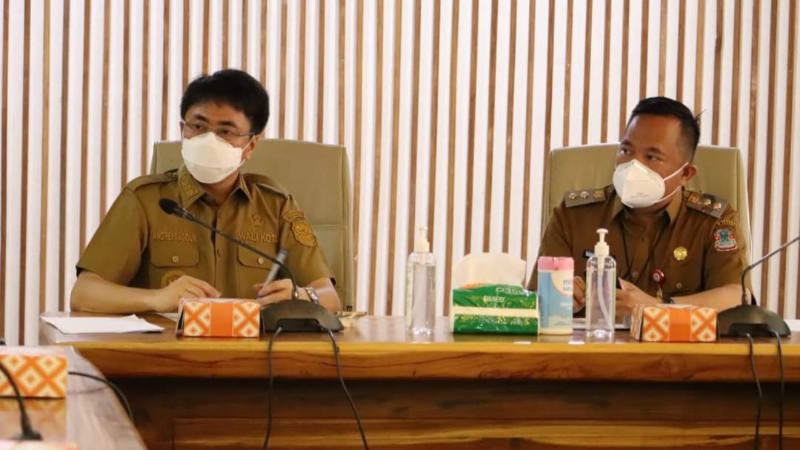 Andrei-Richard Kompak Periksa Pembangunan TPA Mamitarang