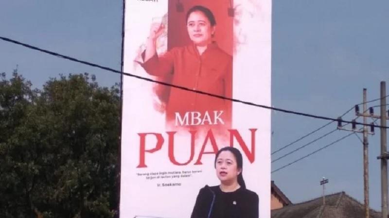 Baliho Puan Maharani Tidak Ada Kaitannya Dengan Pilpres 2024