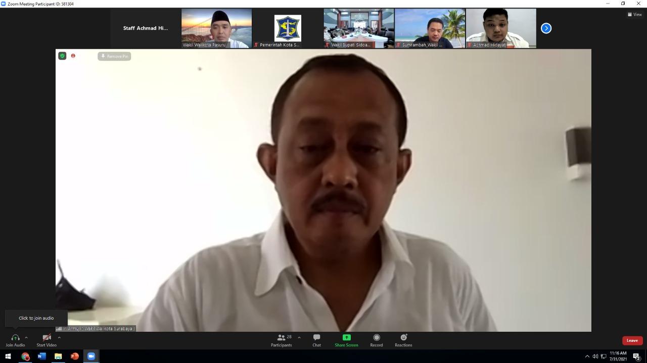 Cak Ji Inisiasi Forum Komunikasi Wakil Kepala Daerah
