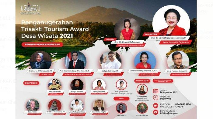 PDI Perjuangan Siap Gelar Trisakti Tourism Award 2021