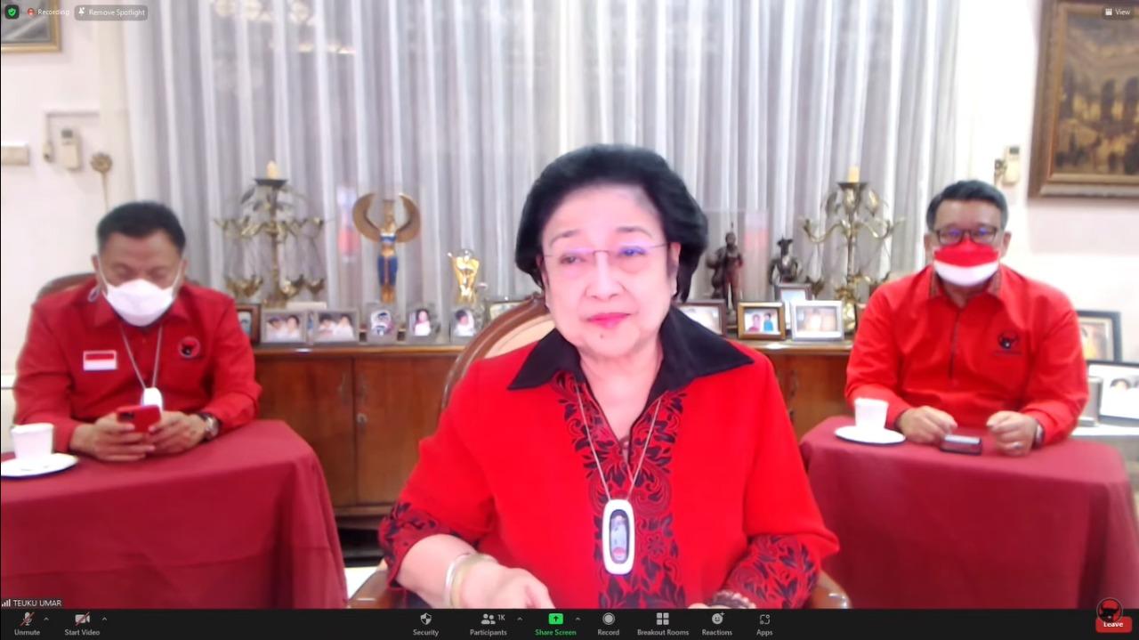 Megawati Tegaskan Sehat Walafiat, Tidak Kurang Satu Apapun