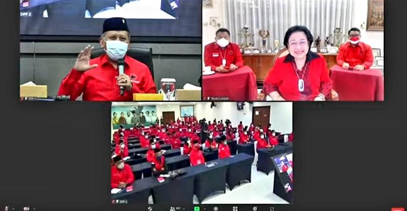 Mega Bangga Sekolah Partai PDI Perjuangan Meski Saat Pandemi
