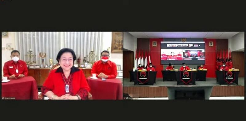 Ini Kata Hasto & Eriko Soal Sehat dan Cantiknya Megawati