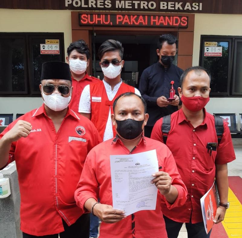 Hoax Megawati Sakit, Banteng Bekasi Laporkan Hersubeno