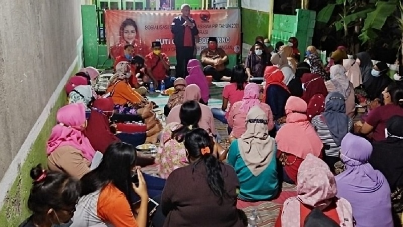 PIP Aspirasi Puti Soekarno, Wimbo Harap Tepat Sasaran