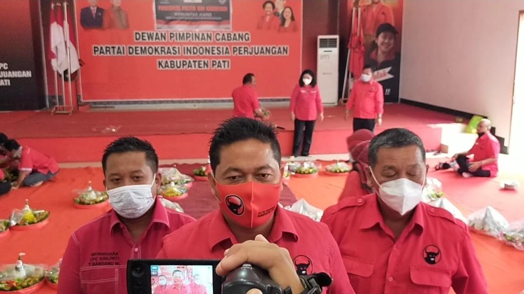 Didukung Edy Wuryanto, Banteng Pati Gelar Vaksinasi