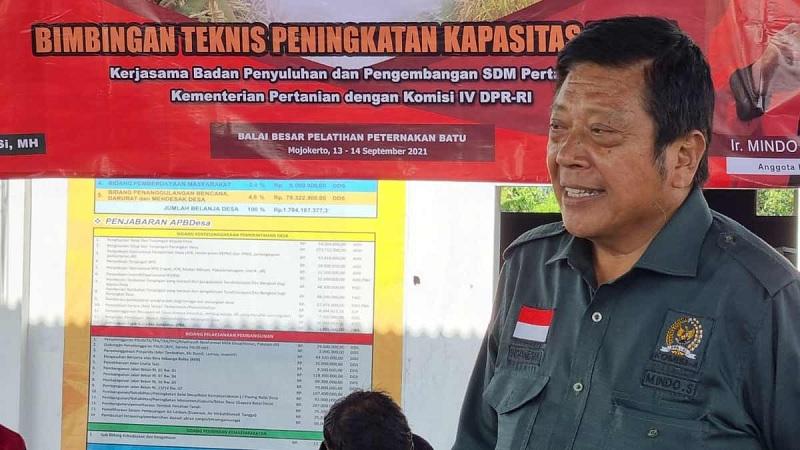 Mindo Gandeng Kementan Tingkatkan Kemampuan Petani