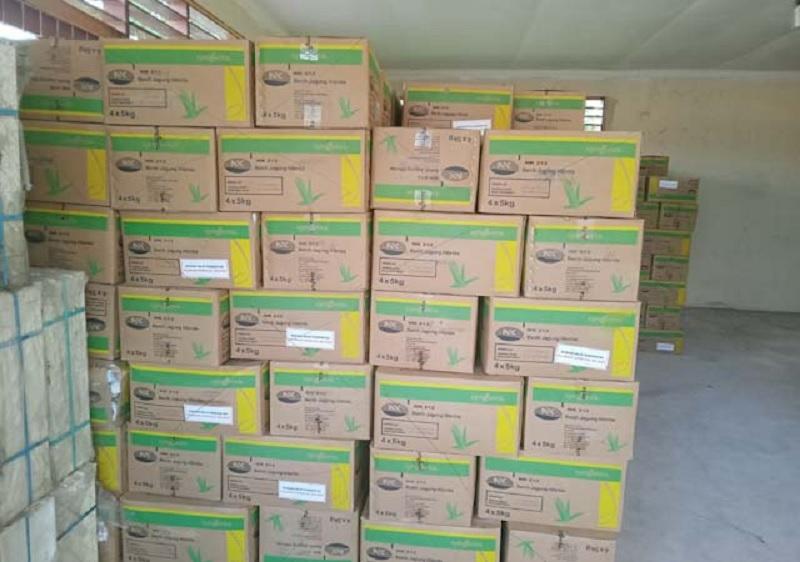 Lobi Bupati Nikson Sukses, 30 Ton Bibit Jagung dari Kementan