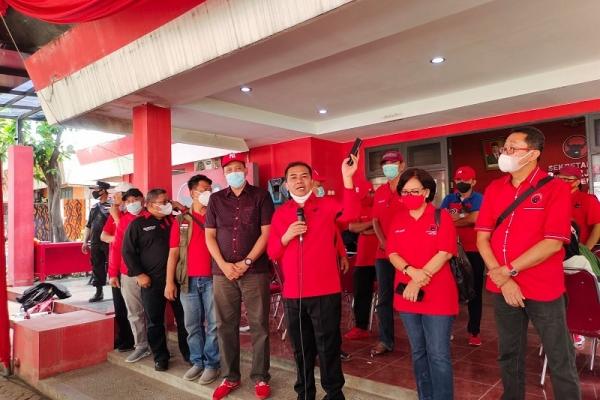 Sukur Ingatkan Kader PDI Perjuangan Displin Berorganisasi