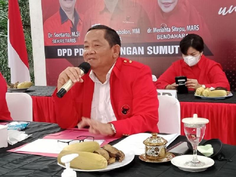 Capai Hattrick, DPD Banteng Sumut Konsolidasi Badan & Sayap