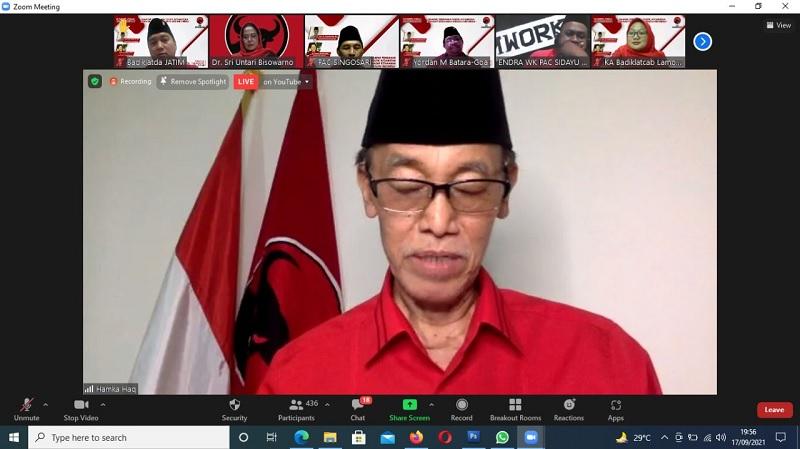 Hamka Haq: Tugas PDI Perjuangan Untuk Mengawal Pancasila