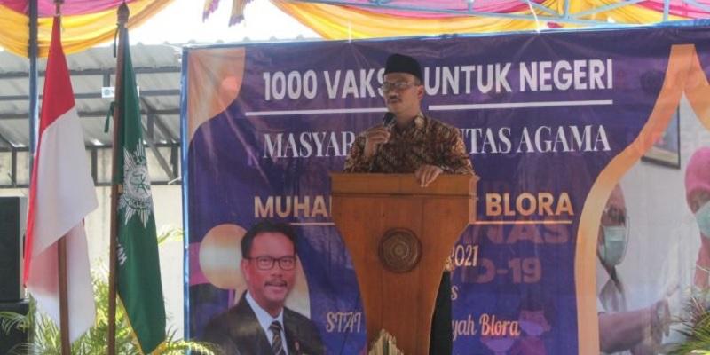 Edy Wuryanto Dukung Vaksinasi & BLK Muhammadiyah Blora