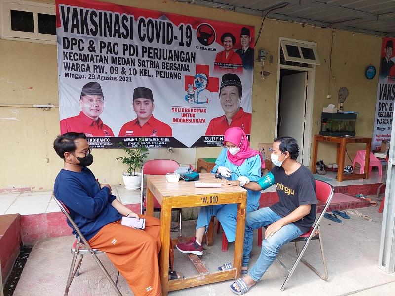 Rudy Heryansyah Kembali Gelar Vaksinasi Massal