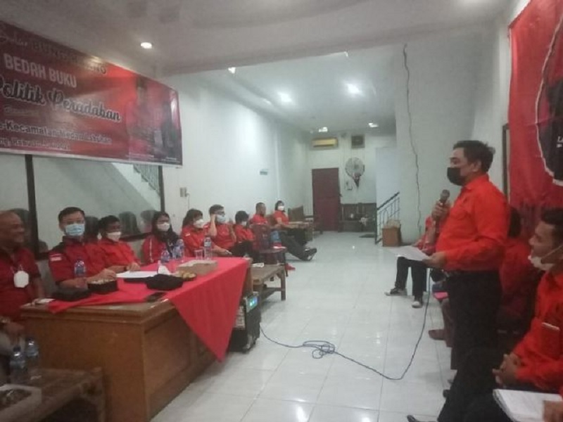 Banteng Medan Panaskan Mesin, Targetkan 35% di Pemilu 2024