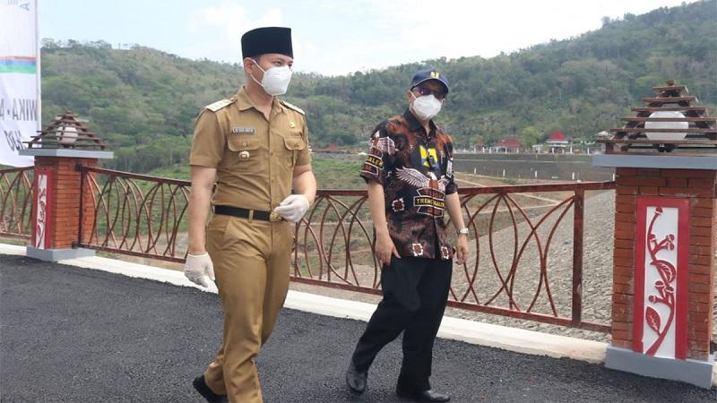 Gus Ipin Yakin Bendungan Tugu Mampu Tarik Wisatawan