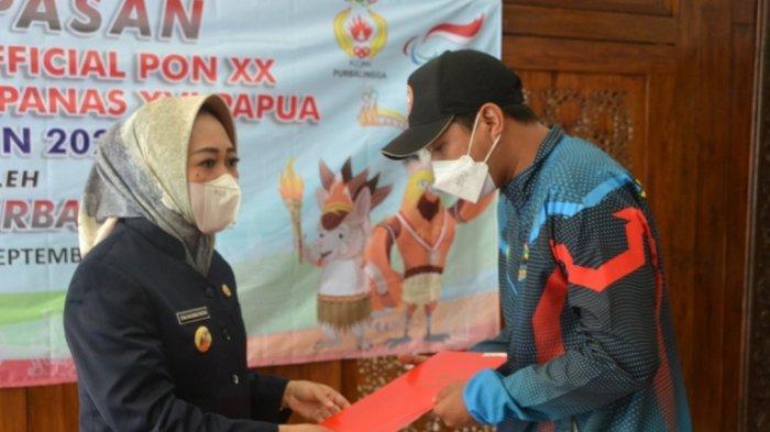 Tiwi Lepas Keberangkatan Empat Atlet ke PON XX & Peparnas
