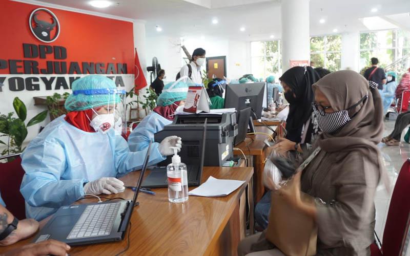 Banteng DIY Komitmen Bantu Pemerintah Atasi Pandemi