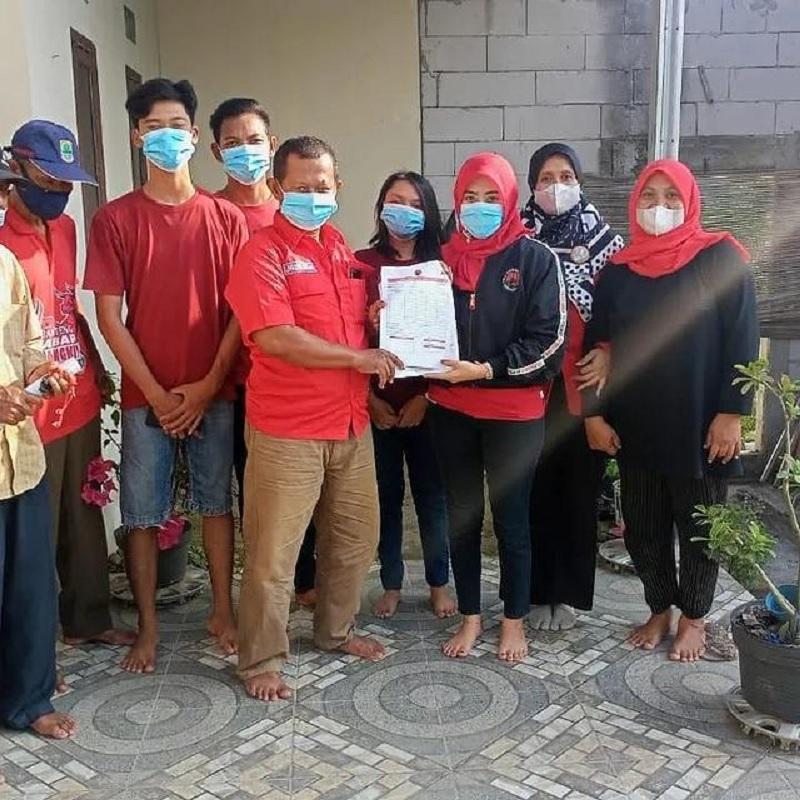 Siti Umayasari Pengampu Dapil lV Karawang Roadshow Ranting