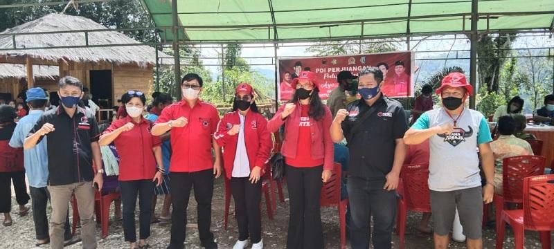 PDI Perjuangan Tana Toraja Gelar Vaksinasi Massal