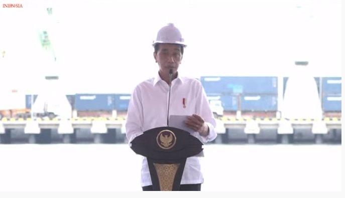 Presiden Resmikan Holding Pelindo & Terminal Wae Kelambu